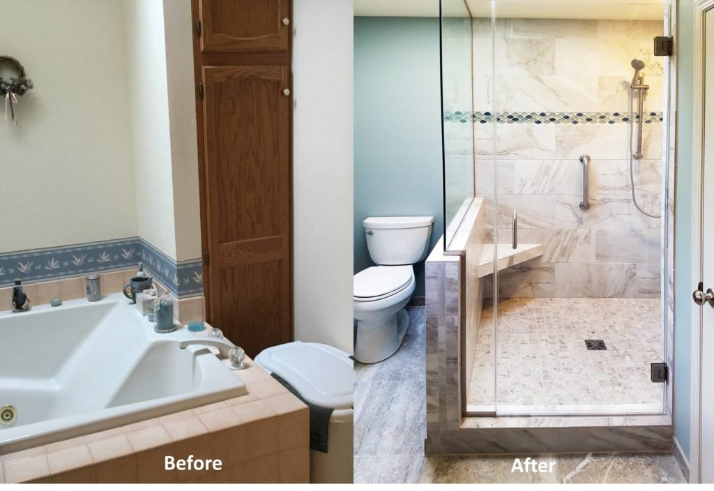 Bathroom Update | Madison WI | DC Interiors and Renovations