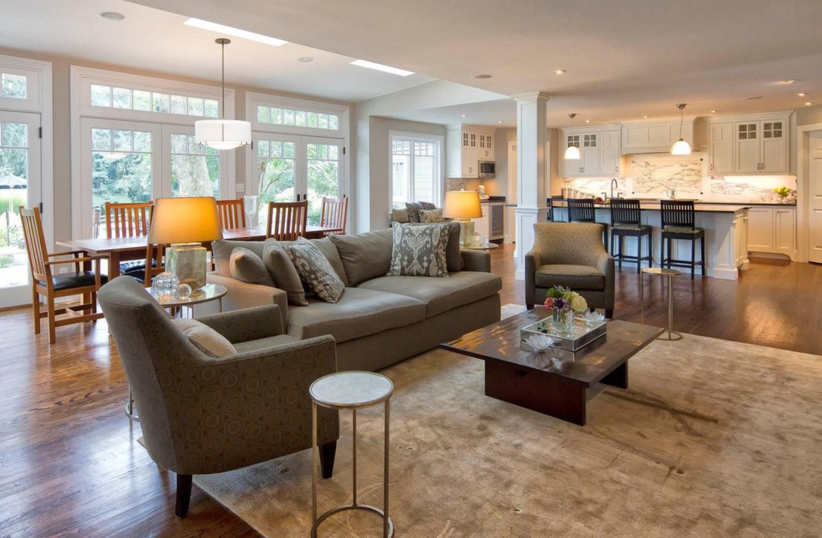 Open Floor Plan Madison Wi Dc Interiors Renovations